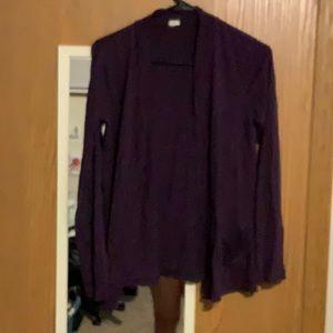 Jcrew size s dark purple